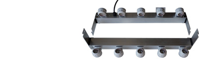 Adapter for 5 tubes for AGRO LED