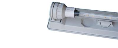 Losse armatuur met LED verlichting